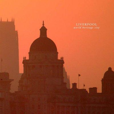 photograph Liverpools Liver building at dawn