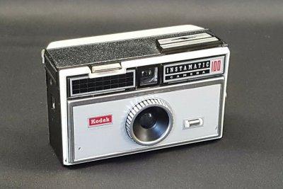 photograph of a kodak instamatic camera