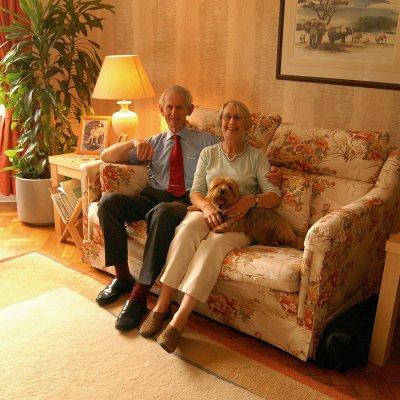 Mr and Mrs Vangen                                  © Guy Woodland 2014