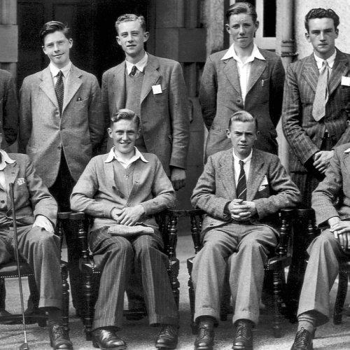 Photograph from the Royal Liverpool Golf Club - England Boys team