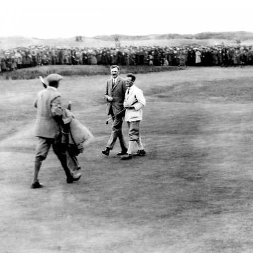 Photograph from the Royal Liverpool Golf Club - Mr Allan Graham 1921