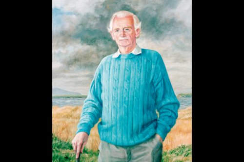 Copy from the Royal Liverpool Golf Club - painting