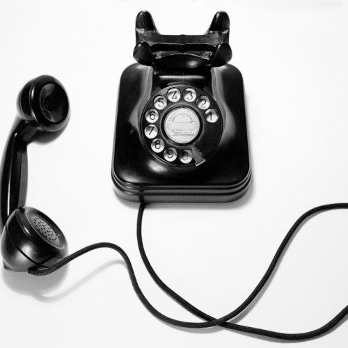 photograph of a 70's telephone