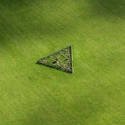 FOD-027  Triangle in field near Spout Lane, Ruraldean Hill © Guy Woodland 2010